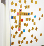 Scrabble Magnetic Refrigerator Tiles