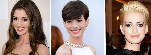 Anne Hathaway's Amazing Hair Transformation