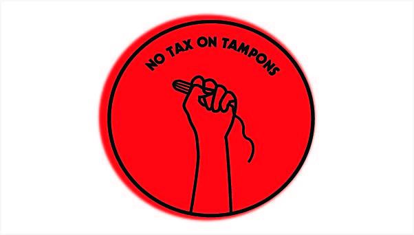 Tampon Tax Logo
