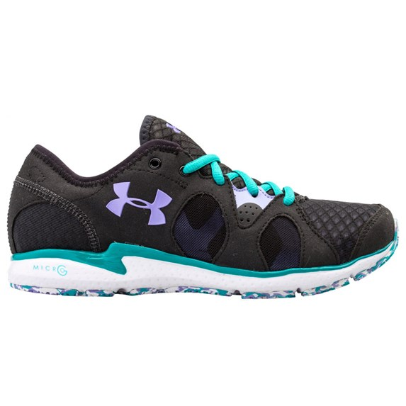Women S Under Armour Grey With Pink Laces Running Shoes