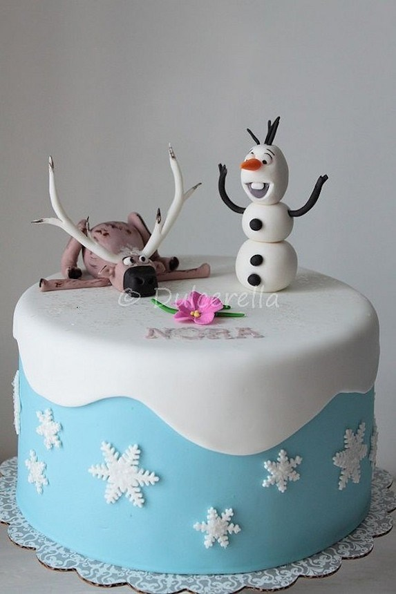 Birthday Cake Ideas Disney Frozen ~ Throw a frozen birthday party of the coolest ideas slice
