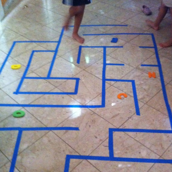 20 dollar store kids 39 activities to save you this summer On floor 5 maze
