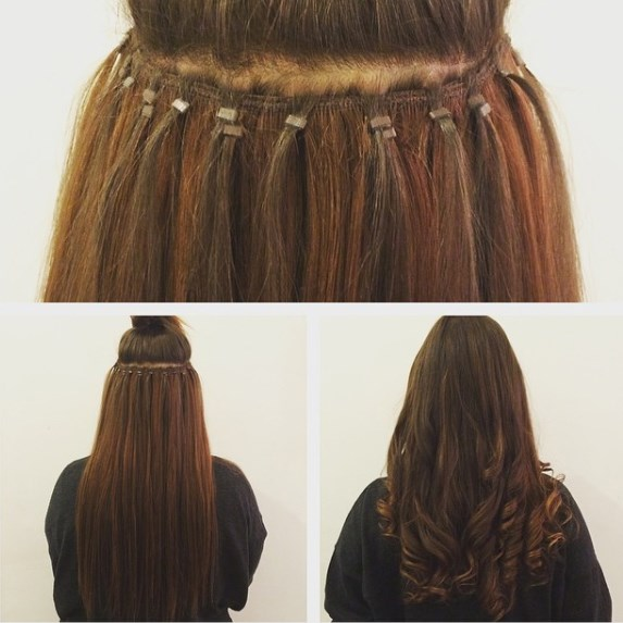 Micro Weft Hair Extensions 109