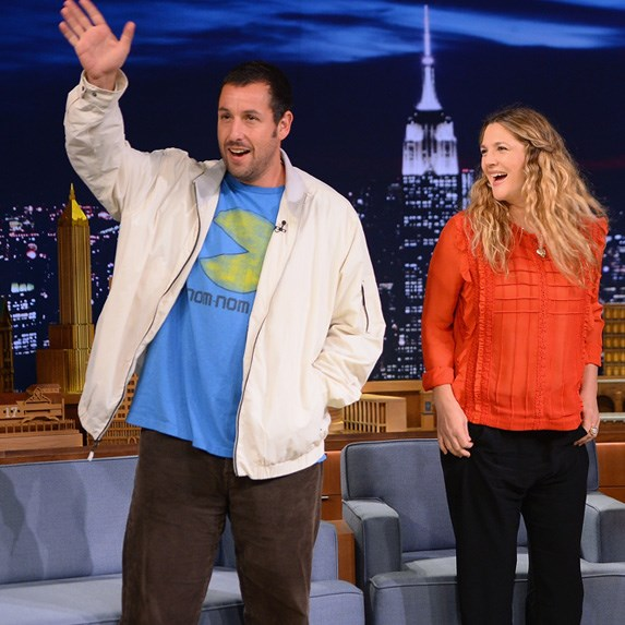 adam sandler and drew barrymore relationship with drummer