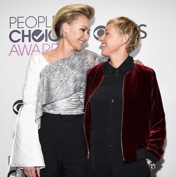 Portia De Rossi Wedding Gown: The Sweet Ways Celebrity Couples First Met