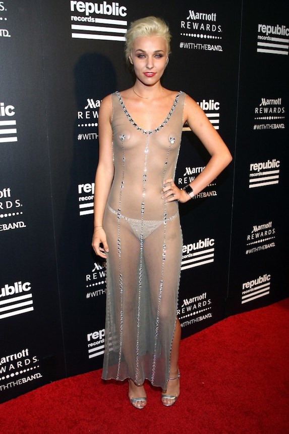 celebrities loving the sheer outfit trend slice ca