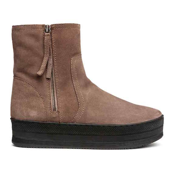 Warm Lined Slip On Shoes Hm