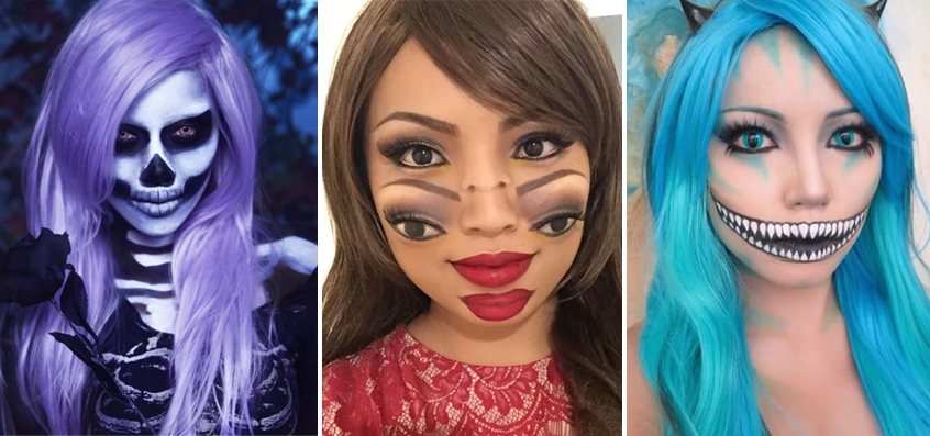 50 Mind-Boggling Halloween Makeup Transformations