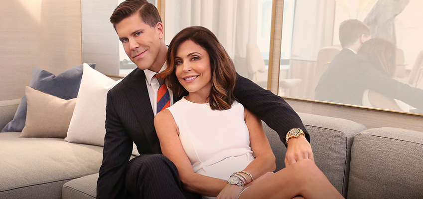"Fredrik Eklund Was ""Scared Sh*tless"" Filming with Bethenny"