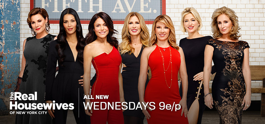 #‎RHONY‬ is BACK for an Explosive Eighth Season!