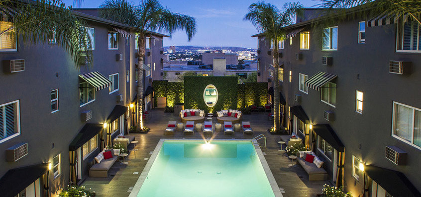 Top 20 Coolest West Hollywood Hotels