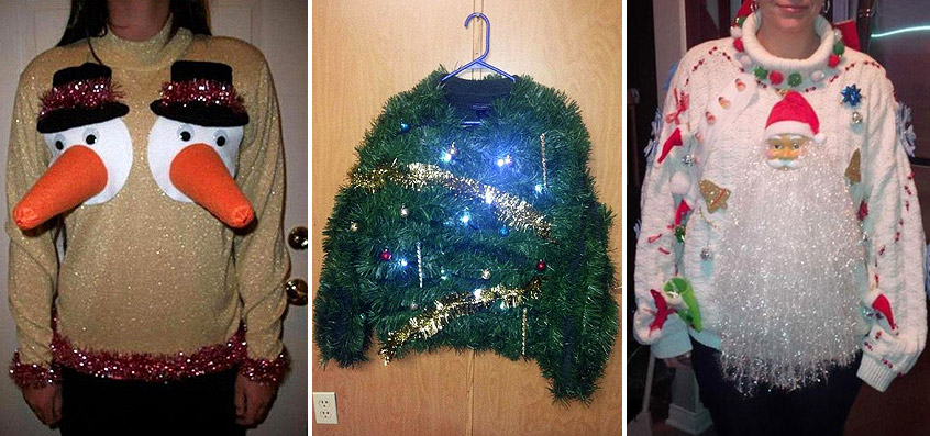 The Ugliest Christmas Sweaters You've Ever Seen