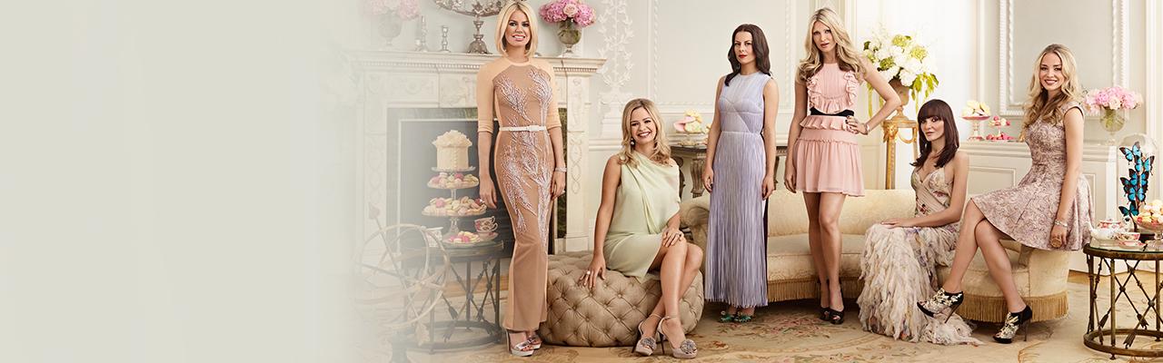 Ladies of london cast bios annabelle neilson caprice bourret