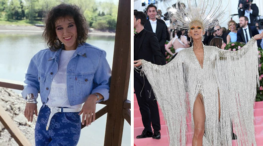 The Power of Love: Celine Dion's Style Evolution